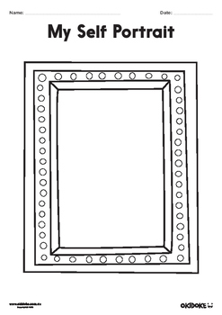Self Portrait Frames - Worksheets