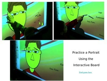 Self-Portrait Kindergarten Painting Step-by-Step Powerpoint