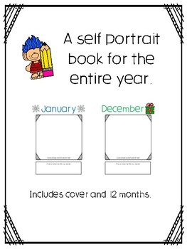 Self Portrait Monthly Book