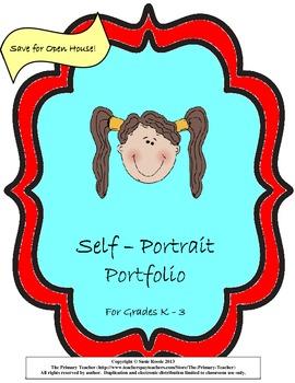 Self-Portrait Portfolio: Fun Printable to Use All Year!