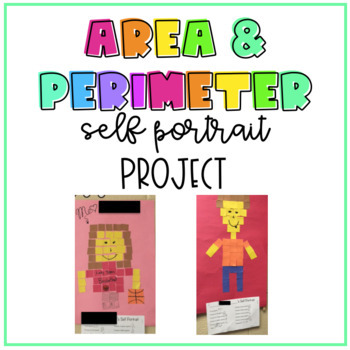 Self Portrait Project for Fractions, Perimeter, and Area