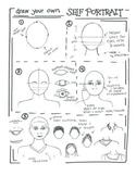 Self-Portrait Sketchbook Activity