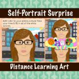 Self-Portrait Surprise | Virtual Art Multi-Day Lesson | Di