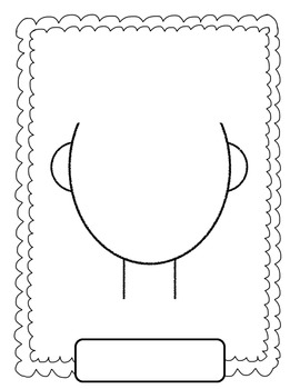 self portrait template for preschool | Click on the pictures below ...