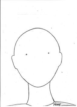 Self Portrait Template