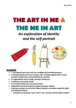 Self-Portraits & Identity - A Visual Arts Unit
