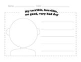 Self Portraits: My Terrible, Horrible, No Good, Very Bad Day