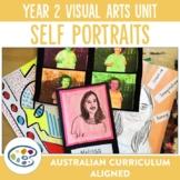 Self Portraits Visual Arts Unit