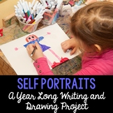 Self Portraits - Writing and Drawing All Year Long in Engl