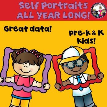 Self-Portraits for Pre-k & Kindergarten!