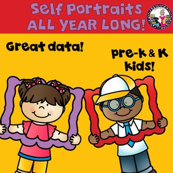Self-Portraits for Pre-k & Kindergarten!
