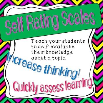 Self Rating Poster