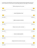 Self-Rating Scale for Speech Fluency