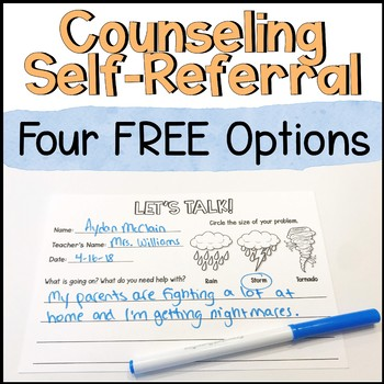Counseling Self-Referral Forms