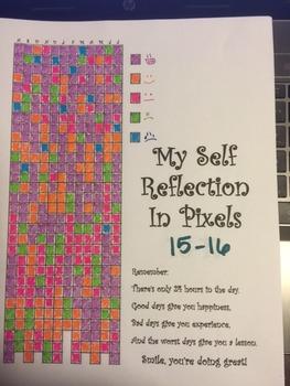 Self Reflect in pixels