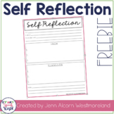 Self Reflection FREEBIE!