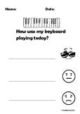 Self Reflection - Keyboard Playing