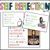 Self Reflection Posters with Bitmojis