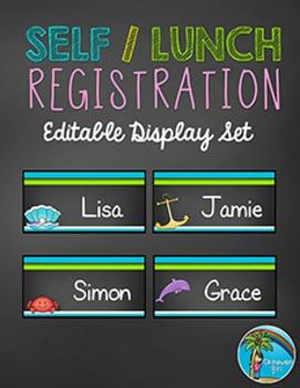 Self Registration Label Set