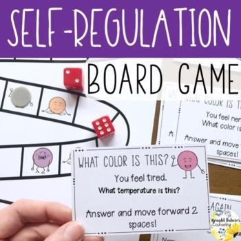 Self-Regulation Board Game