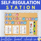 Self-Regulation Bulletin Board and Class Decor -Self Regulation Station Check-In