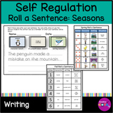 Self Regulation Writing Activities Roll a Sentence or Story Seasons Addition