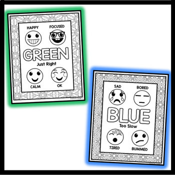 Self Regulation Coloring Pages