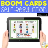 Self-Regulation Coping Skills BOOM CARDS - Distance Learning