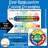 Self-Regulation Coping Strategies - Social Story, Charts a