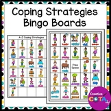 Self Regulation Activity Coping Strategy Bingo Boards