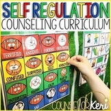 Self Regulation Curriculum: Self Regulation Activities Bundle for Counseling