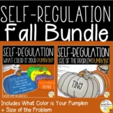 Self Regulation Fall Bundle Counseling Games Activities and Worksheets