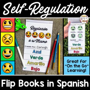 Self Regulation Flip Books in SPANISH