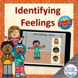 Self-Regulation Identify Feelings and Emotions BOOM Cards™