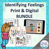 Self-Regulation Identifying Feelings Interactive Books & B