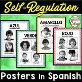Self Regulation Feelings Posters in SPANISH