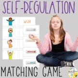 Self-Regulation Matching Game School Counseling Game