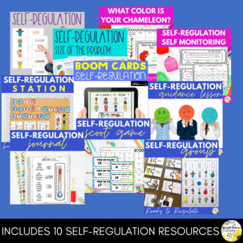 Self-Regulation Mega Bundle Self Regulation Activities