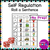 Self Regulation Roll a Sentence