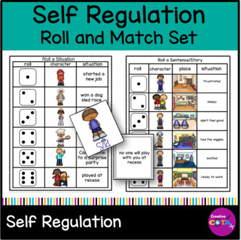 New Report On Self Regulation And >> Self Regulation Writing Roll A Sentence Situation And Match Emotion
