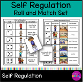 Self Regulation Writing Activities: Roll and Match Emotions and Strategies