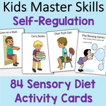 Self-Regulation Sensory Diet Activity Cards