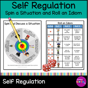 Self Regulation  Spin a situation and Roll an idiom Bundle