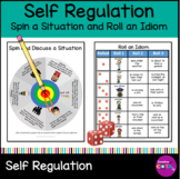 Self Regulation Activities Spin a situation and Roll Idioms Set