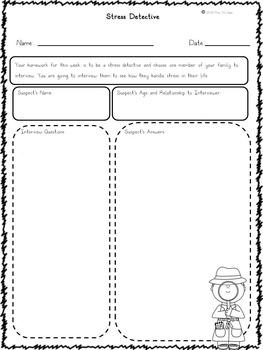 Self-Regulation Task Card Bundle