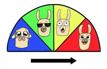 Self Regulation Tools: Llama Feelings/Emotion pack