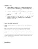 Self-Regulation Unit Plan
