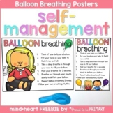 Self-Regulation and Managemen SEL - FREE Balloon Breathing