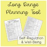 Self-Regulation and Well-Being Kindergarten Checklist