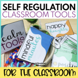 Self Regulation for Classrooms: Break Spot, Yoga Cards, Reflection Sheets